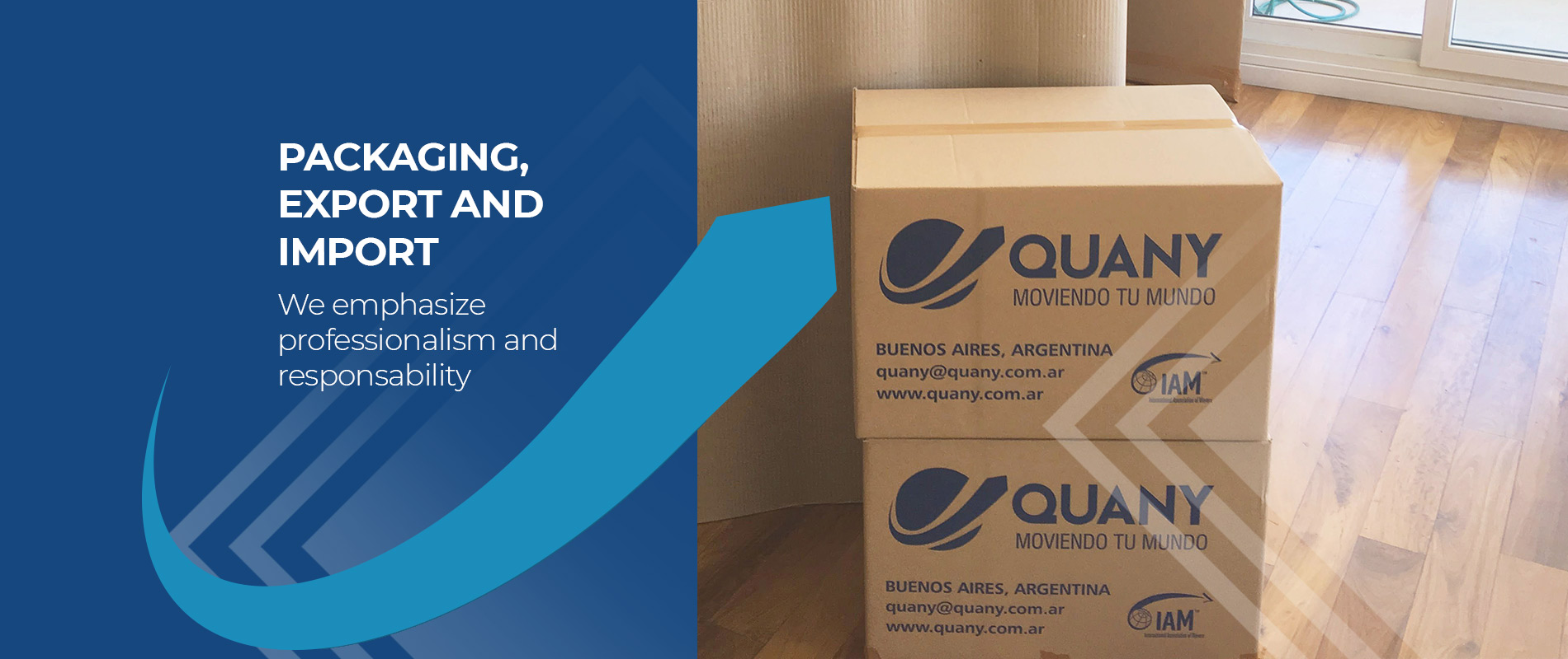 Packaging, export and import